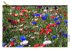 Wild Flower Meadow 2 Carry-all Pouch