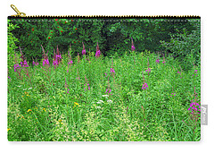 Wild Flowers And Shrubs In Vogelsberg Carry-all Pouch