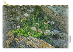 Wild Flowers Between The Rocks Carry-all Pouch
