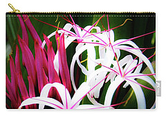 Carry-all Pouch featuring the photograph Wild Flowers In Hawaii by D Davila