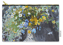 Wild Flowers Carry-all Pouch by Ylli Haruni