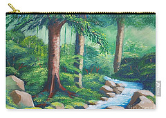 Wild Forest River Carry-all Pouch