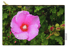 Carry-all Pouch featuring the photograph Wild Glory by Roger Bester