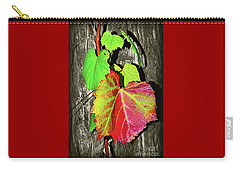 Carry-all Pouch featuring the photograph Wild Grape Vine II By Kaye Menner by Kaye Menner