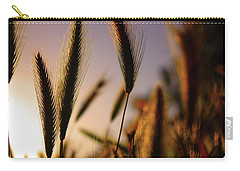 Wild Grasses At Sunset Carry-all Pouch