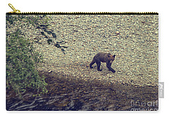 Wild Grizzly Bear Carry-all Pouch by Patricia Hofmeester