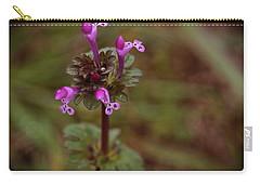 Wild Henbit Flower Loganville Georgia Carry-all Pouch