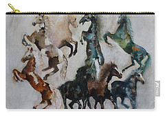 Wild Horses Are Coming Carry-all Pouch