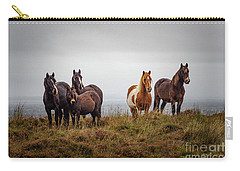 Wild Horses In Ireland Carry-all Pouch