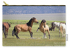 Wild Horses In The Eastern Sierra  Carry-all Pouch