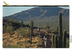 Wild Horses Of The Sonoran Desert Carry-all Pouch