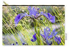 Wild Irises Carry-all Pouch