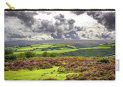 Wild Landscape Of Exmoor, Uk Carry-all Pouch