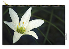 Carry-all Pouch featuring the photograph Wild Lily by Carolyn Marshall