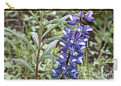 Carry-all Pouch featuring the photograph Wild Lupine by Linda Bianic