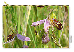 Wild Meadow Bee Orchids Carry-all Pouch