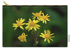 Carry-all Pouch featuring the photograph Wild Meadow Daisies by LeeAnn McLaneGoetz McLaneGoetzStudioLLCcom