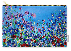 Wild Meadow Flowers Carry-all Pouch