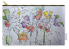 Wild Menagerie  Carry-all Pouch by Gail Butters Cohen
