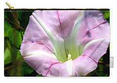 Wild Morning Glory Carry-all Pouch