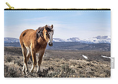 Wild Mustang Filly Of Sand Wash Basin Carry-all Pouch
