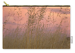 Carry-all Pouch featuring the photograph Wild Oats by Linda Lees