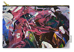 Wild Orchid Abstract Carry-all Pouch
