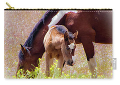 Wild Paint Horses Carry-all Pouch