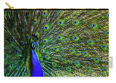 Wild Peacock Carry-all Pouch
