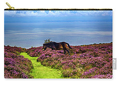 Wild Pony On Exmoor, Uk Carry-all Pouch