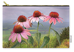 Wild Purple Coneflowers Carry-all Pouch