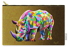 Wild Rainbow Carry-all Pouch by Anthony Mwangi