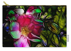 Wild Rose - Colors Carry-all Pouch by Stuart Turnbull