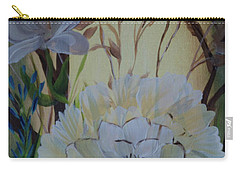 Wild Rose In The Forest Carry-all Pouch by Donna Brown