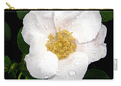 Carry-all Pouch featuring the photograph Wild Rose by Stephanie Moore