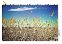 Carry-all Pouch featuring the photograph Wild Sea Oats by Colleen Kammerer
