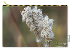Carry-all Pouch featuring the photograph Wild Seed by Ann E Robson