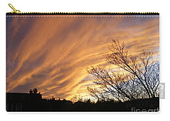 Wild Sky Of Autumn Carry-all Pouch by Barbara Griffin