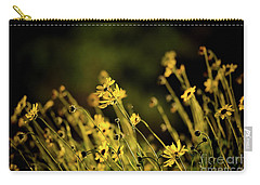 Carry-all Pouch featuring the photograph Wild Spring Flowers by Kelly Wade