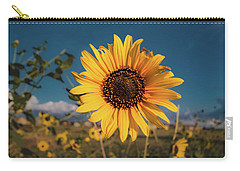 Wild Sunflower Carry-all Pouch by Jay Stockhaus