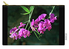 Wild Sweet Peas Carry-all Pouch