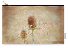 Wild Teasel Carry-all Pouch