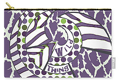 Wild Thing Carry-all Pouch by Methune Hively