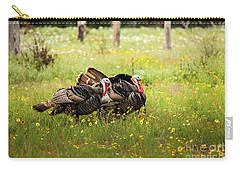 Wild Turkey's Dance Carry-all Pouch