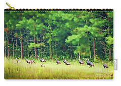 Wild Turkeys Carry-all Pouch