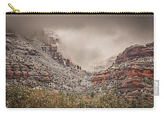 Boynton Canyon Arizona Carry-all Pouch by Racheal Christian
