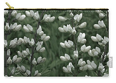 Wild White Indigo Carry-all Pouch by Tim Good