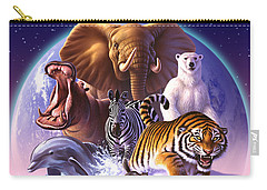 Wild World Carry-all Pouch by Jerry LoFaro