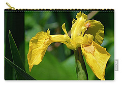 Wild Yellow Iris Carry-all Pouch