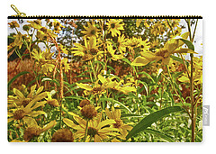 Wild Yellow Carry-all Pouch